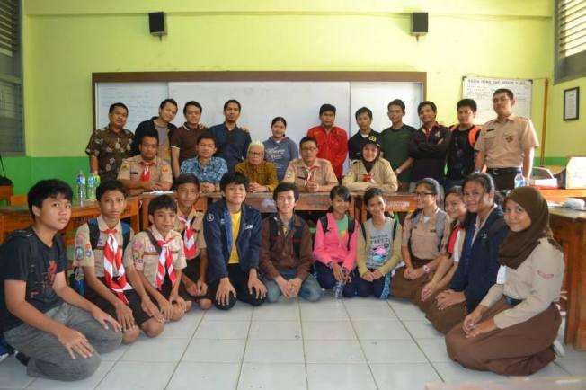 Pertemuan Alumni dan Pihak Sekolah.