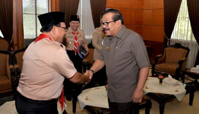 Bupati Rijanto dan Gubernur Soekarwo
